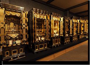 最高級の金仏壇はこちらのコーナーです