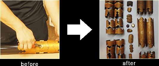 お仏壇の完全修復 金具外し作業のビフォーアフター